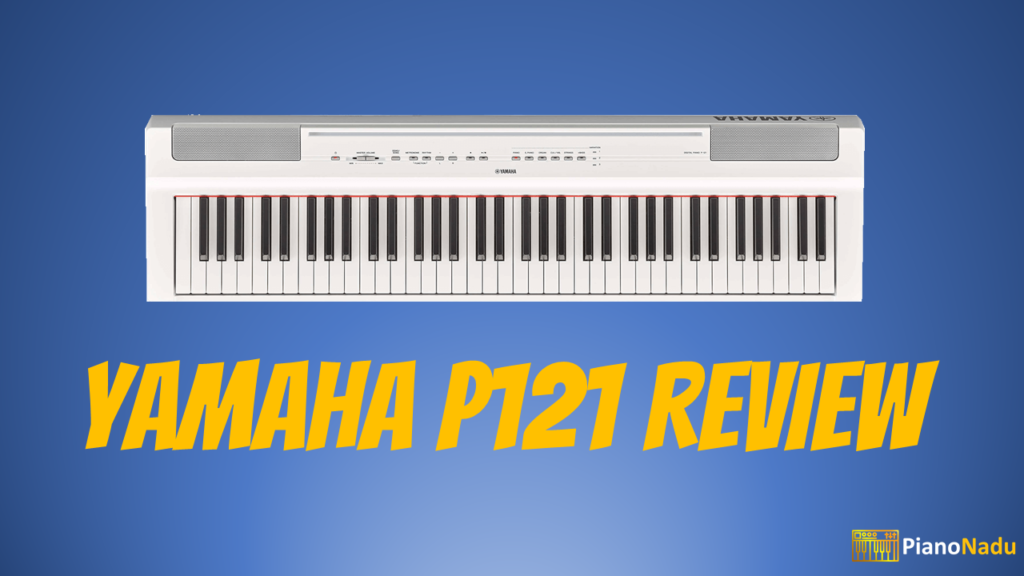 yamaha p121 review a compact and an affordable instrument for gigging musicians. Black Bedroom Furniture Sets. Home Design Ideas
